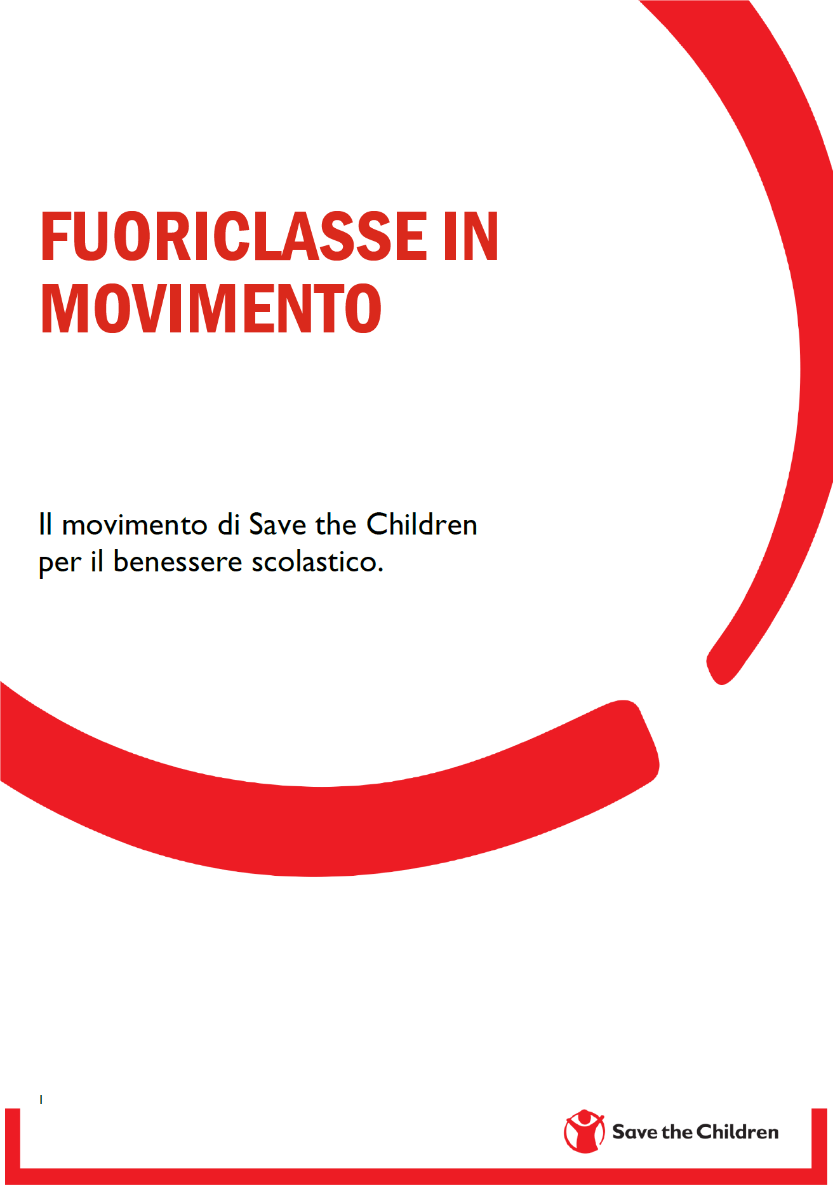 UN PENSIERO DALL'EQUIPE DI FLUORICLASSE IN MOVIMENTO SAVE THE CHILDREN DI NAPOLI